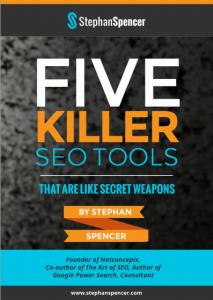 5 Killer SEO Tools cover