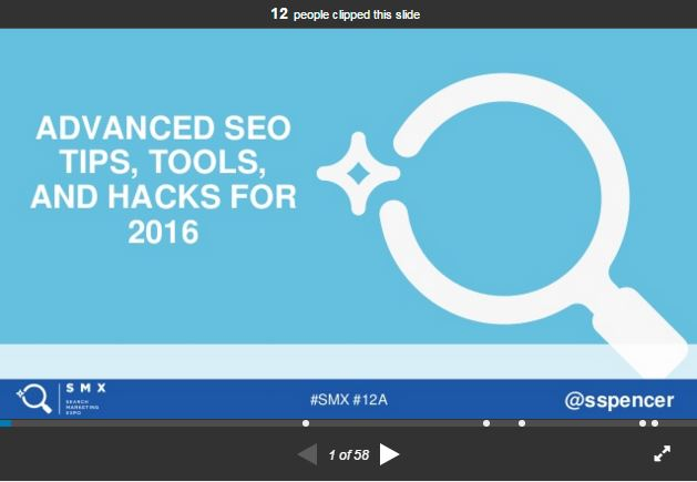 Advanced SEO Tips, Tools, and Hacks for 2016